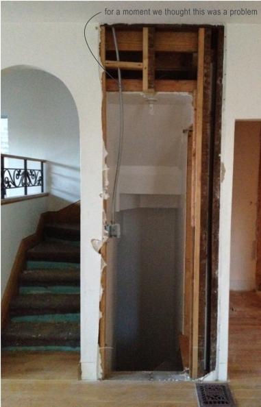 basement stair panic