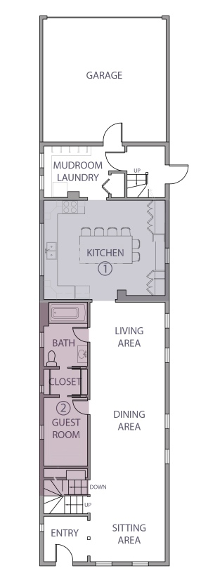 Final first floor layout