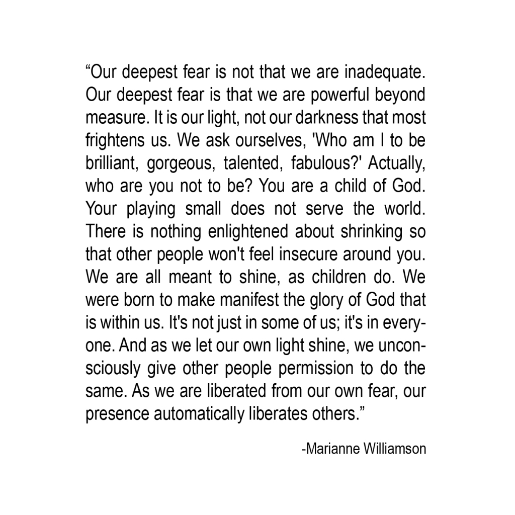 Our Deepest Fear