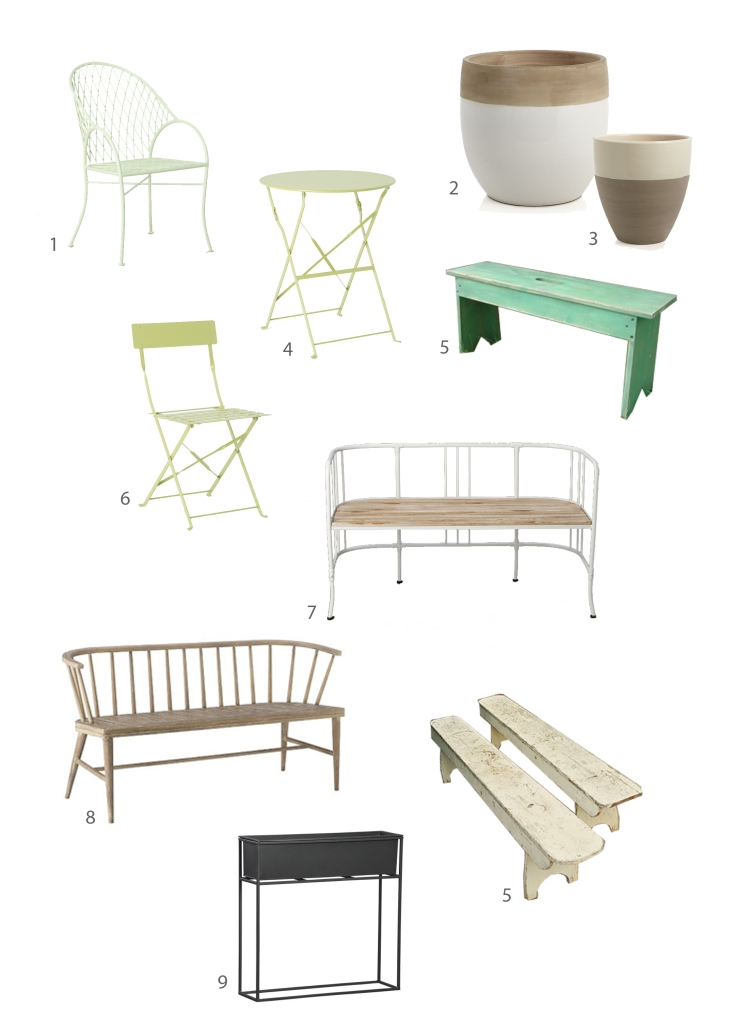 outdoor furniture options