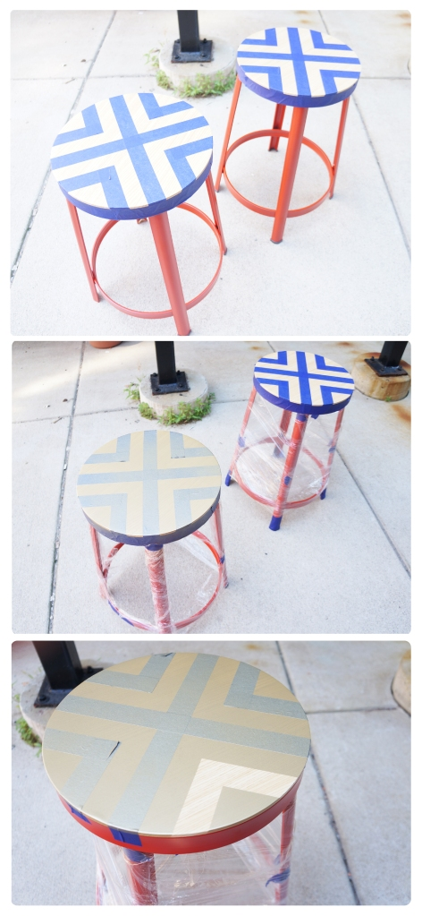 stools in progress
