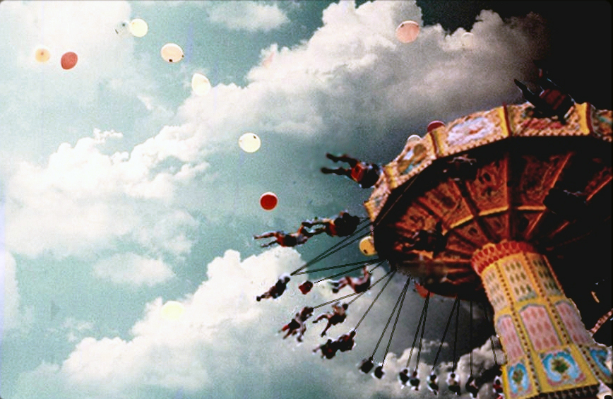 merry go round and balloons_2 paper dreams