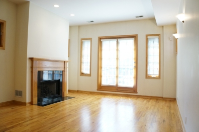 Existing space living room view