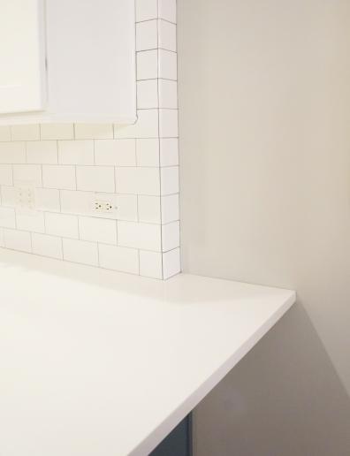 Counter/tile detail