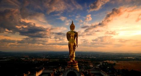 gold buddha tumblr image