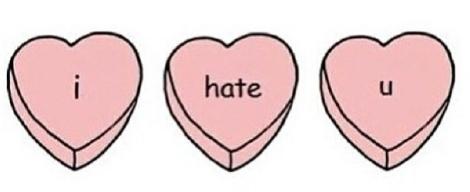 I hate you hearts