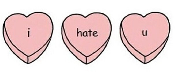 I hate you hearts