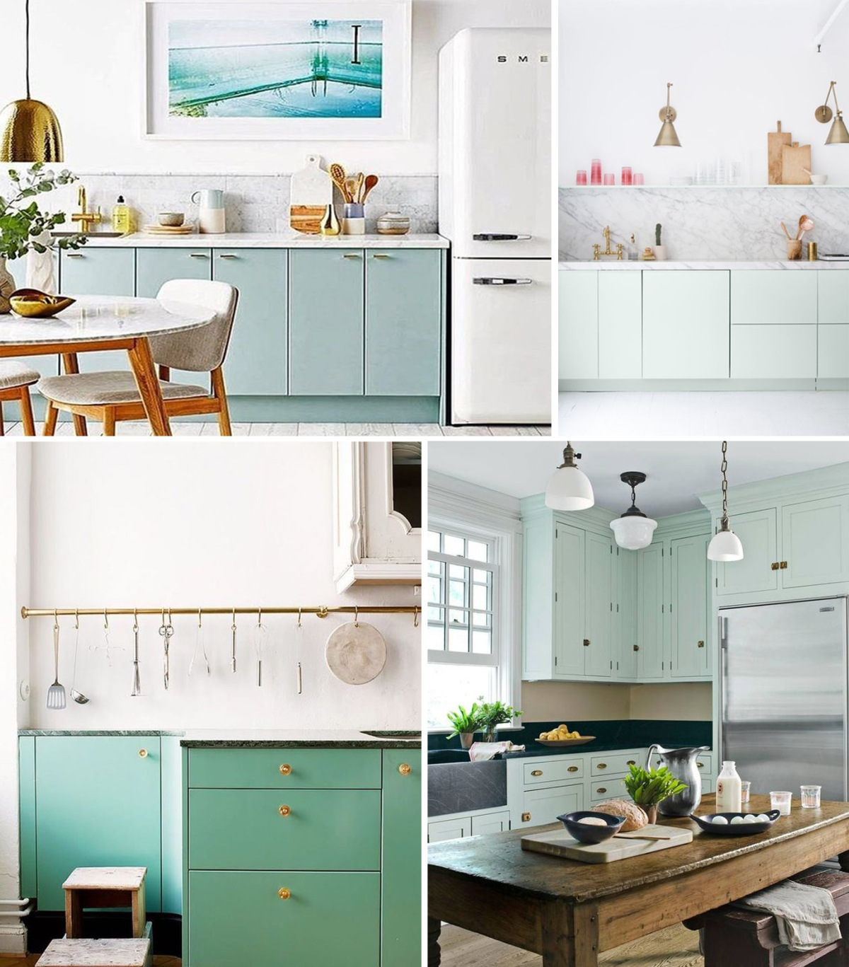 Mint Green Kitchen: Bringing Color Into The Kitchen