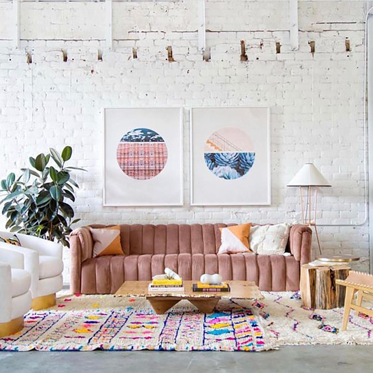 team woodnote_pink sofa