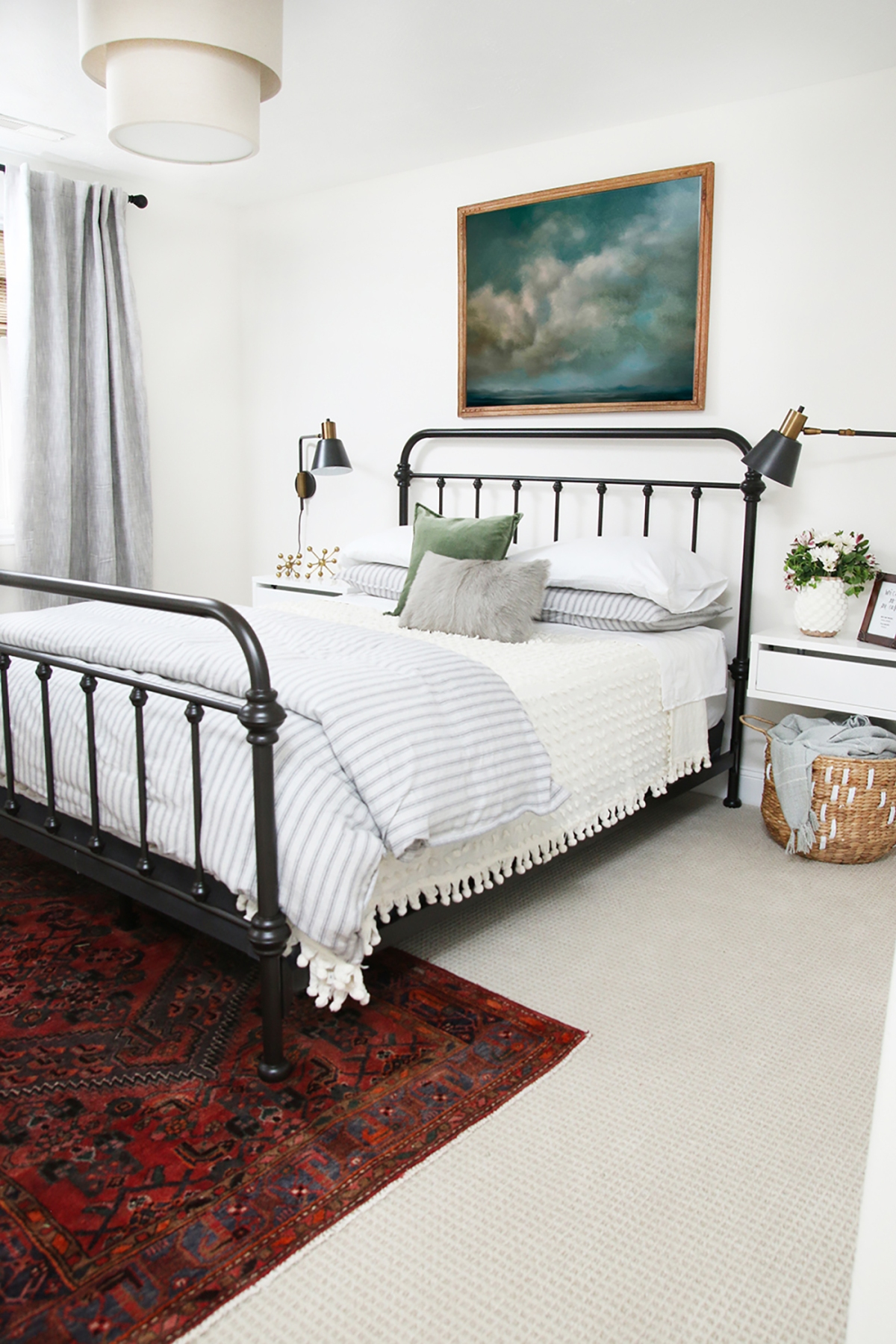 metal bed frame inspo_chrislovesjulia