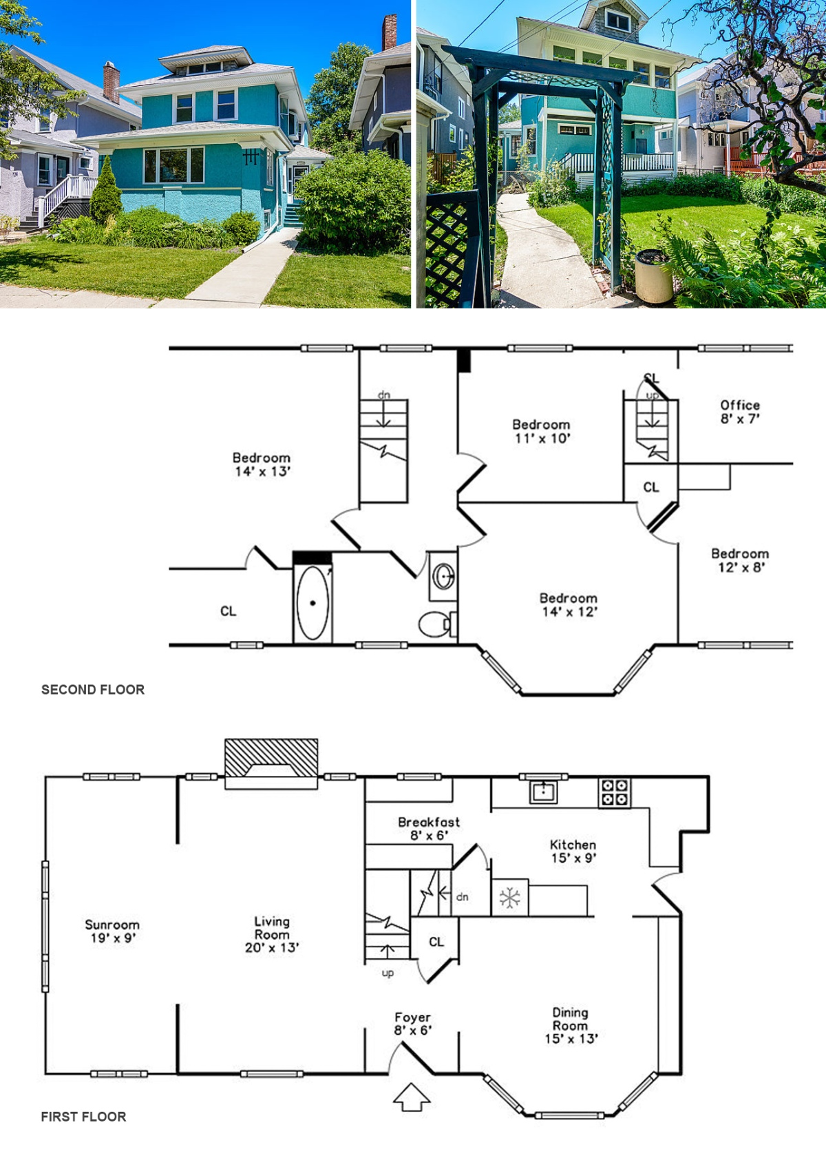 Humphrey exteriors and plans