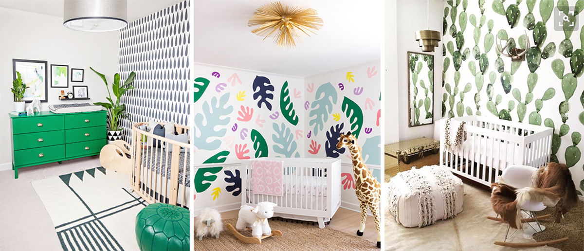 pattern color nursery